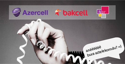 Azercell Bakcell Nar Mobile
